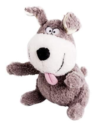 Мягкая игрушка Button Blue Собака Улыбака, 22 см