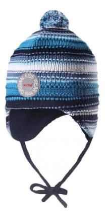 Шапка Reima бини Kumpu синяя 46 размер