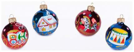 Набор шаров Елочка Детская забава разноцветный C1589