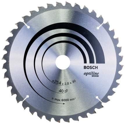 Пильный диск по дереву Bosch STD WO 254x30-40T 2608640435