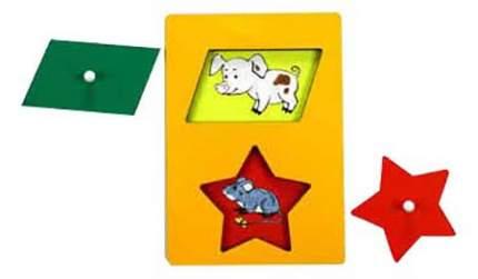 Развивающая игрушка Поросенок - Мышонок Секретики Оксва