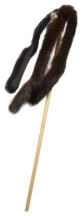 Дразнилка для кошек GoSi, Дерево, Норка, 50см