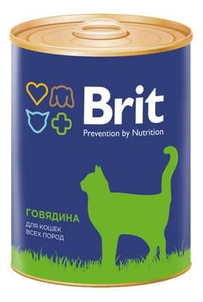 Консервы для кошек Brit Prevention by Nutrition, говядина, 340г