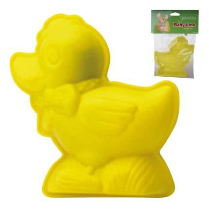 Форма для выпечки SILIKOMART Утенок желтая