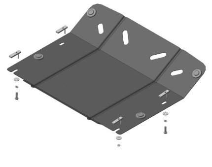 Защита двигателя Мотодор для Volkswagen, Porsche (motodor.62705)