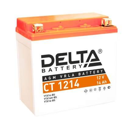 Аккумулятор автомобильный  Delta CT 1214 14 Ач