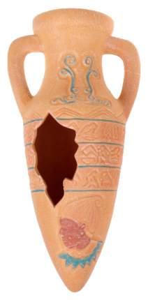 Грот для аквариума ZOLUX Амфора серия Египет, керамика, 10х11х30 см