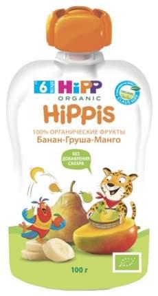 Пюре фруктовое HiPP Банан, груша, манго с 6 мес 100 г