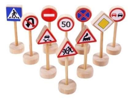 Набор дорожных знаков PAREMO Дорожные знаки 10 шт.