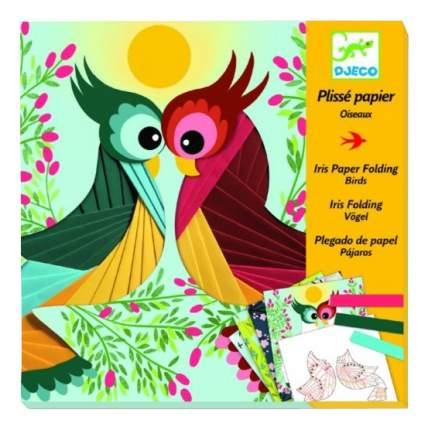 Набор для творчества Djeco Бумажный декор Птички 9443