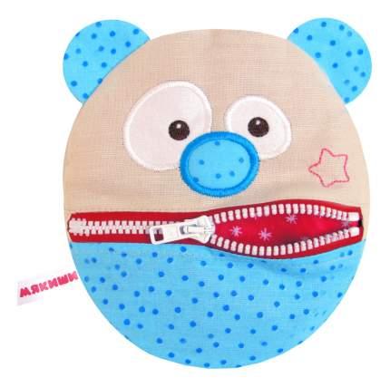 Мягкая игрушка Мякиши Медведь 18 см