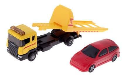 Машинка металлическая scania tow truck с машинкой 1:48 Autotime 48743