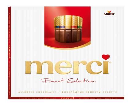 Набор конфет шоколадные Merci ассорти 250 г