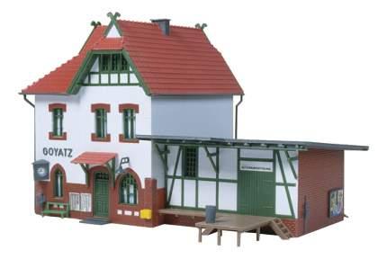 Модель сборная Вокзал Goyatz 1:87 HO Auhagen 11347