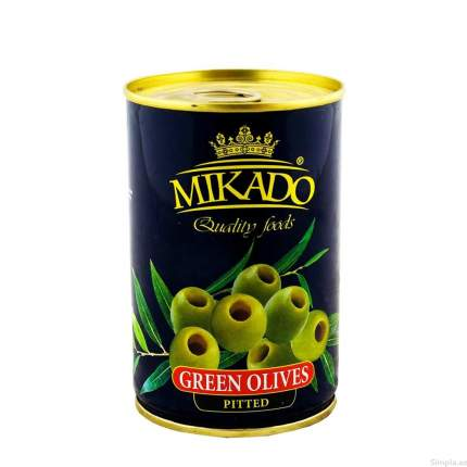 Оливки Mikado без косточки 300 мл