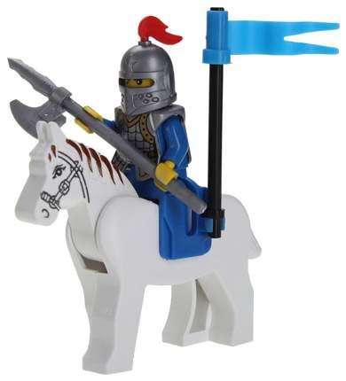 Конструктор пластиковый Brick рыцарь на коне