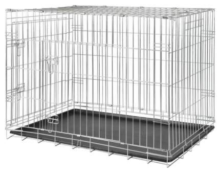 Клетка для собак TRIXIE 62x93x69см 658 серый, 2 двери