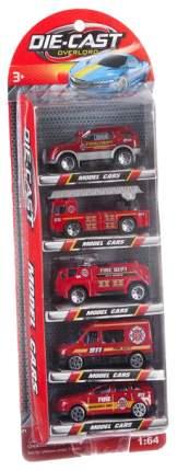 Набор пластиковых машин Gratwest набор из 5 машинок die cast А79748