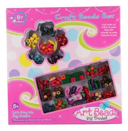 Набор для рукоделия с бисером и нитками Art Beads Gratwest Д42906