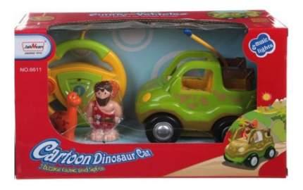Джип р/у Cartoon Dinosaur салатовый Gratwest М72933