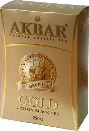 Чай черный Akbar gold 250 г