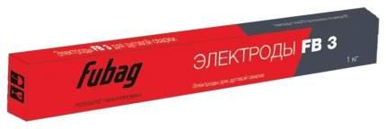 Сварочный электрод FUBAG FB 3 D3,0 мм с рутиловым покрытием пачка 0,9 кг