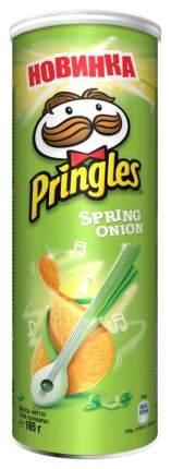 Картофельные чипсы Pringles зеленый лук 165 г