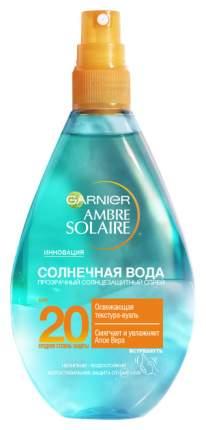 Спрей для тела Garnier Ambre solaire Солнечная вода SPF20, 150 мл