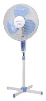 Вентилятор напольный Supra VS-1605 white/blue