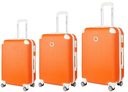 Чемодан Ornelli 3 в 1 21730 оранжевый S/M/L