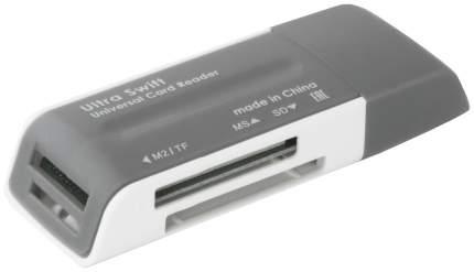 Устройство для чтения карт памяти Defender ULTRA SWIFT 83260 Серый, белый