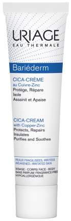 Крем для лица Uriage Bariederm Cica-Crème Réparatrice au Cu-Zn 40 мл
