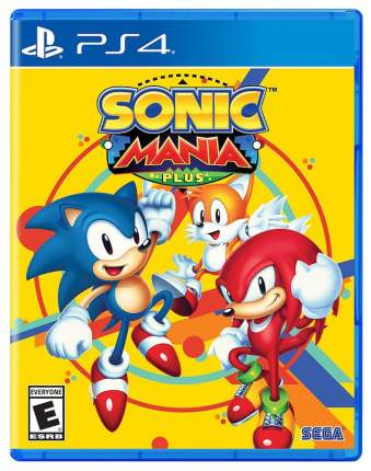 Игра Sonic Mania Plus для PlayStation 4
