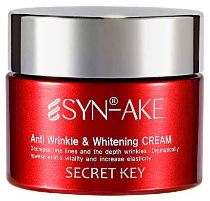 Крем для лица Secret Key Syn-Ake Anti Wrinkle & Whitening Cream 50 г
