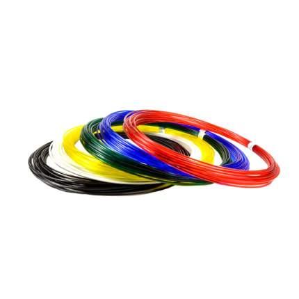 Набор пластика для 3D ручек Unid PRO 10 м, 6 цветов