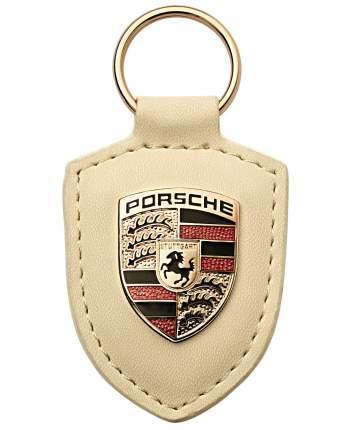 Брелок для ключей с гербом Porsche Crest Keyring WAP0500960E White