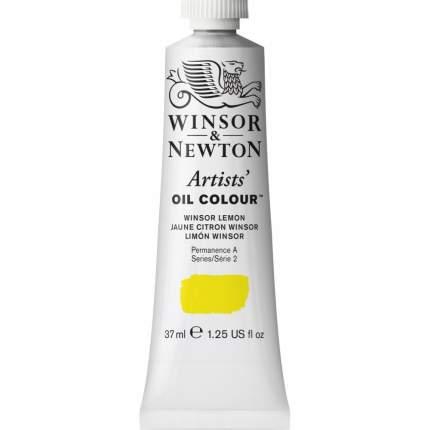 Масляная краска Winsor&Newton Artists винзор лимон 37 мл