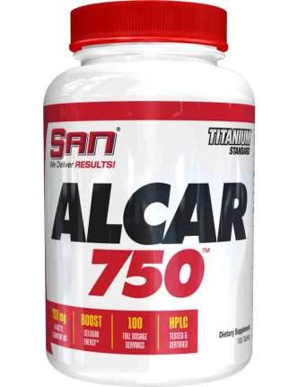 L-carnitine SAN Alcar 750 100 таблеток натуральный