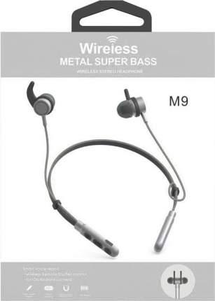 Наушники беспроводные М9 Grey