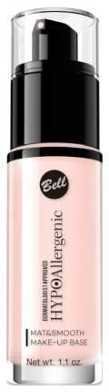 Основа для макияжа Bell Hypo Allergenic Mat&Smooth Make-Up Base 01 30 мл
