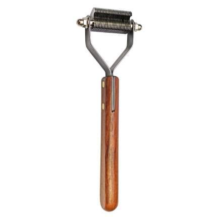 Стриппинг Show Tech Coat King с деревянной ручкой для экстра-мягкой шерсти, 26 лезвий