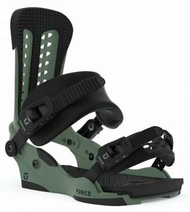 Крепления для сноуборда Union Force 2020, зеленые, M