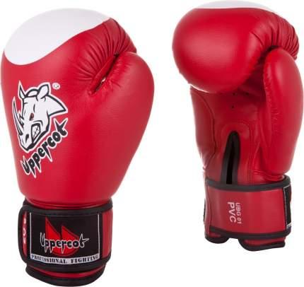 Боксерские перчатки Roomaif UBG-01 красные 4 унции