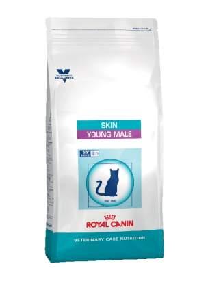 Сухой корм для котов ROYAL CANIN Skin Young Male, для кастрированных, до 7 лет, 0,4кг