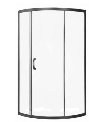 W53G-315-090MT64 BLISS L Solo Slide, 90x90, профиль матовый хром, стекло проз