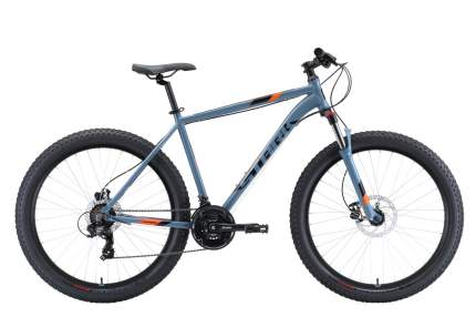 "Велосипед Stark Hunter 27.2+ HD 2020 22"" black/gray/orange"