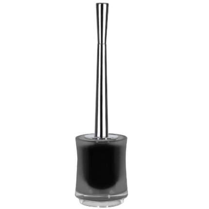 Ёрш с подставкой Sydney-Acryl Cl-Smokey, акрил, цвет: серый