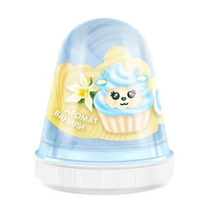 Слайм MONSTER'S SLIME FL006 Fluffy Ваниль голубой