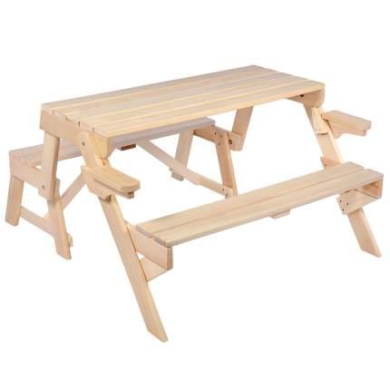 Скамья-стол раскладная Банные штучки 120x80x40 см