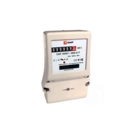 Счетчик электроэнергии EKF СКАТ 102М/1 - 5(60) Ш П PROxima